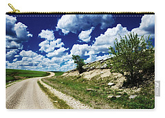 Curving Gravel Road Carry-all Pouch