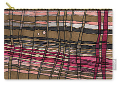 Stalks At Sunset Carry-all Pouch by Sandra Church