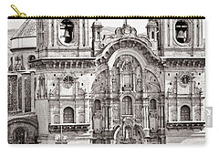 Cusco Cathedral Carry-all Pouch by Darcy Michaelchuk