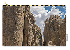 Carry-all Pouch featuring the photograph Custer State Park Needles by Brenda Jacobs
