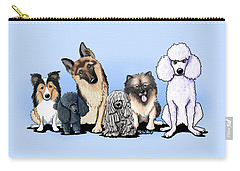 Custom Breed4ginnie Print Carry-all Pouch