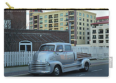 Carry-all Pouch featuring the photograph Custom Chevy Asbury Park Nj by Terry DeLuco
