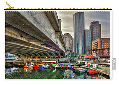 Carry-all Pouch featuring the photograph Custom Order - Boston Rowing Center by Joann Vitali