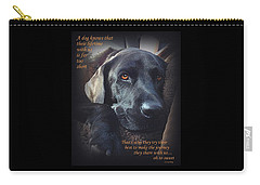Custom Paw Print Midnight Oh So Sweet Carry-all Pouch