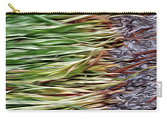 Cut Grass And Pebbles Carry-all Pouch