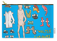 Cut Outs Carry-all Pouch