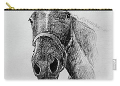 Cut The Horse Carry-all Pouch