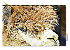 Soft And Shaggy Carry-all Pouch