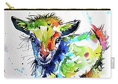 Cute Baby Goat Carry-all Pouch by Kovacs Anna Brigitta