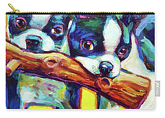 Cute Boston Terriers Carry-all Pouch
