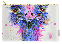 Cute Ostrich Carry-all Pouch