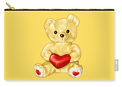 Cute Teddy Bear Hypnotist Carry-all Pouch
