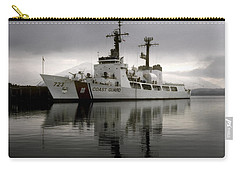 Cutter In Alaska Carry-all Pouch by Steven Sparks