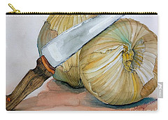Cutting Onions Carry-all Pouch