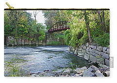 Cuyahoga River At Peninsula Carry-all Pouch