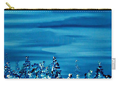 Carry-all Pouch featuring the painting Cy Lantyca 33 by Cyryn Fyrcyd