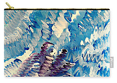 Carry-all Pouch featuring the painting Cy Lantyca 35 by Cyryn Fyrcyd