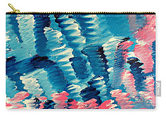 Carry-all Pouch featuring the painting Cy Lantyca 36 by Cyryn Fyrcyd