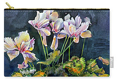 Cyclamen In A Vase Carry-all Pouch