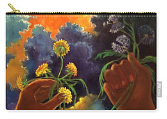 Cycle Of Life  Hands Ot Heaven Series Carry-all Pouch