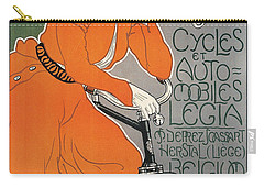 Cycles Et Automobiles Legia Poster 1898 Carry-all Pouch