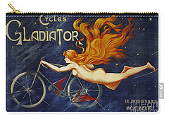 Cycles Gladiator  Vintage Cycling Poster Carry-all Pouch