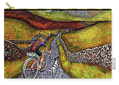Carry-all Pouch featuring the painting Lancashire Lanes II by Mark Howard Jones
