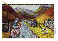 Carry-all Pouch featuring the painting Lancashire Lanes 3 by Mark Howard Jones