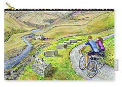 Lancashire Lanes I Carry-all Pouch by Mark Jones
