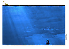 Cycling Into Sunrays No. 2 Carry-all Pouch