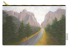 Cycling To The Pearly Gates Carry-all Pouch