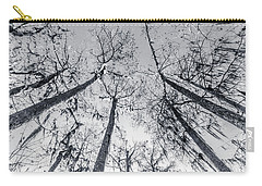 Carry-all Pouch featuring the photograph Cypress Abstract by Andy Crawford