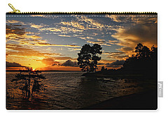 Cypress Bend Resort Sunset Carry-all Pouch by Judy Vincent