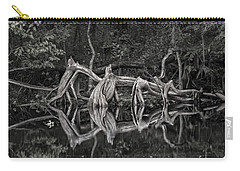 Carry-all Pouch featuring the photograph Cypress Design by Steven Sparks