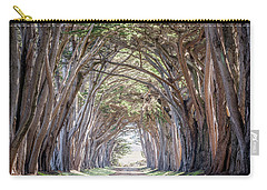 Carry-all Pouch featuring the photograph Cypress Embrace by Everet Regal