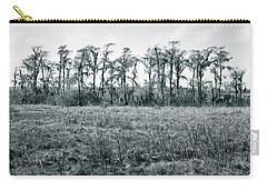Carry-all Pouch featuring the photograph Cypress Oasis by Andy Crawford