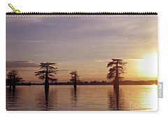 Cypress Sunset Carry-all Pouch by Sheila Ping