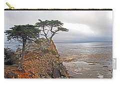 Cypress Tree At Pebble Beach Carry-all Pouch