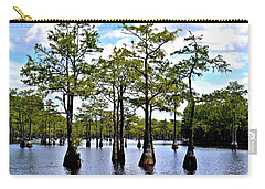 Cypress Trees Of Georgia Carry-all Pouch