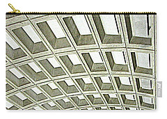 D C Metro 2 Carry-all Pouch by Randall Weidner