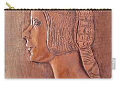 Da Vinci Girl Carry-all Pouch