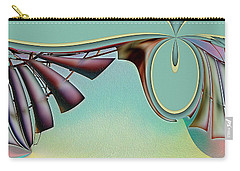 Da Vinci's Nudge Carry-all Pouch by Wendy J St Christopher