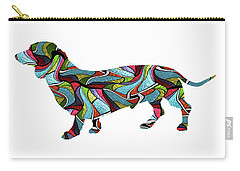 Dachshund Spirit Glass Carry-all Pouch
