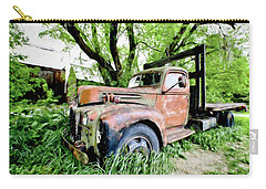 Dads Old Flatbed Truck. Carry-all Pouch