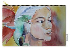Daenerys Targaryen Born Dragon  Carry-all Pouch