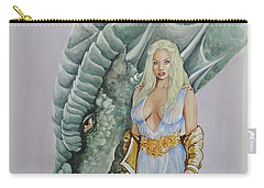 Daenerys Targaryen - Game Of Thrones Carry-all Pouch