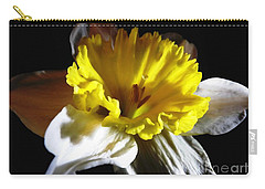 Daffodil 2 Carry-all Pouch by Rose Santuci-Sofranko