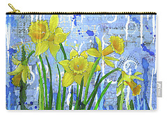 Daffodil Ding Dongs Carry-all Pouch