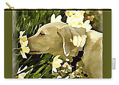 Daffodil Dog Carry-all Pouch