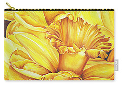 Daffodil Drama Carry-all Pouch